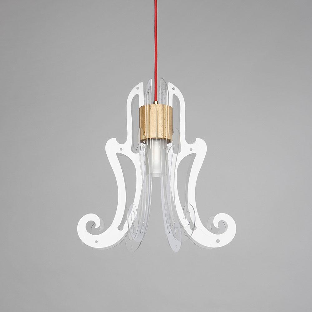 LUXYA la lampada che nasce dalle squadre dalle molteplici configurazioni.